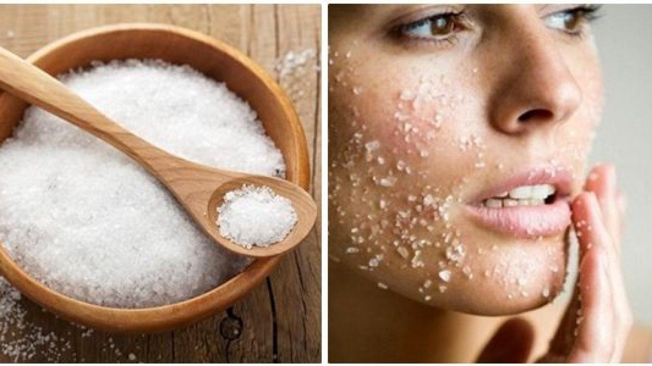 Giảm béo mặt bằng Massage với muối