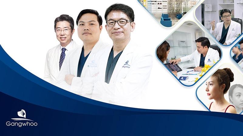 Hệ thống Bệnh viện thẩm mỹ Gangwhoo tại Việt Nam được sở y tế cấp phép